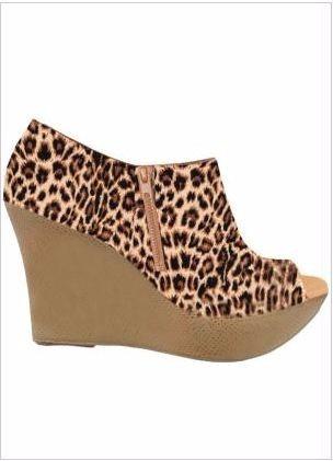 Ankle Boot Salto Oncinha