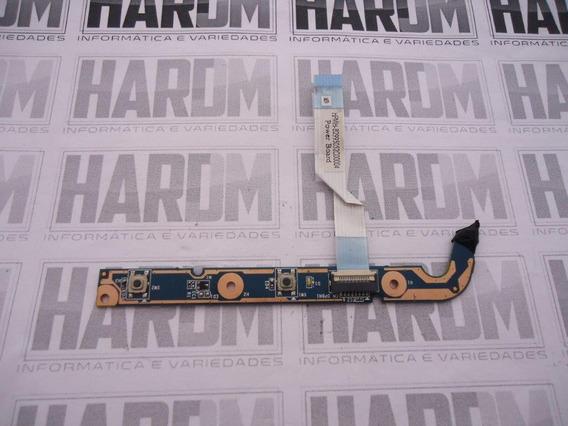 Placa Power Button Liga Desliga Hp Dv6-6000 Dv6-6173 Nfe J7