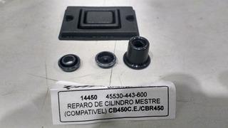 Reparo Cilindro Mestre Cb 450 Dx Custon Sport Cbr 450sr 14mm ( Para O Burrinho Original )l