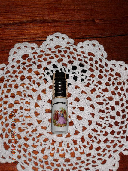 Perfumero De Cartera Porcelana Limoges Sellado No Envio