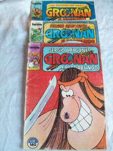 Lote De 3 Revistas   Groonan El Vagabundo