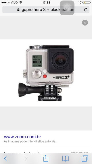 Go Pro 3+ Black Edition Hero