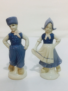 Brecho Charisma-casal De Holandeses-porcelana Gmb-europeia.