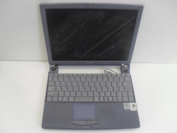 Notebook Defeituoso Sony Vaio Pcg-532b Relíquia