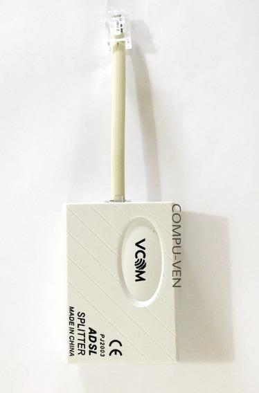 Filtro Adsl Internet Punto De Venta Telefono Con Cable. Vcom