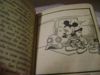 Libro Revista Antiguedad Comic Historieta Mickey 1930 Sepia