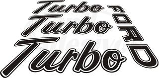 Adesivos Ford F1000 Turbo Kit Completo Com 04 Adesivos