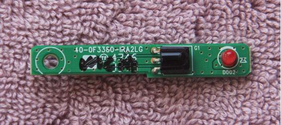 Placa Sensor Do Cr Philco Ph32f33dg Vb 40-0f3380-ira2LG