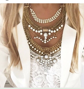 Colar Chocker Fashion Zara
