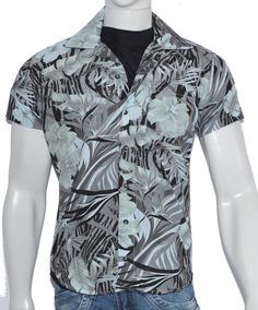 Camisa Florida/havaiana Estampada, Todos Tamanho Alto Padrão