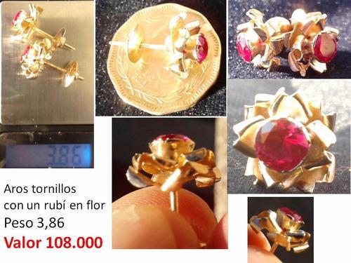 e9ad55de907c Tornillos Para Aros De Oro - Joyería en Mercado Libre Chile