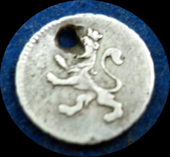 Argentina Potosí 1/4 De Real 1807 Muy Fino