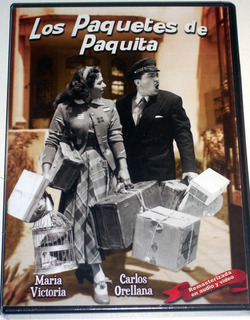 Dvd: Los Paquetes De Paquita (1954) Maria Victoria!! Nuevo