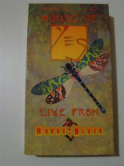 Vhs Yes -house Of Yes- Live From The House Of Blues (1999)