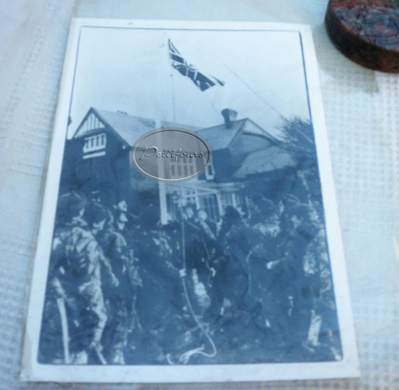 Foto Histórica Malvinas: Izan Bandera Británica 1982/ M P*