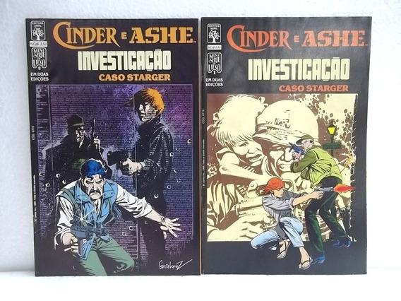Cinder E Ashe - Minissérie Completa Em Duas Edições