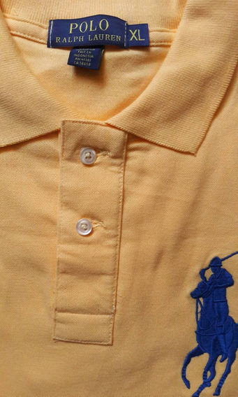 Chombas Polo Ralph Lauren Big Pony M/ Cortas Custom Fit