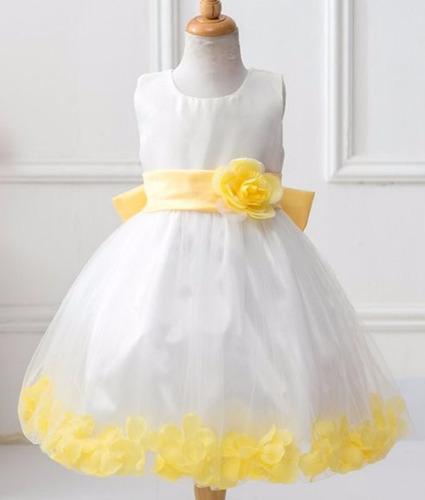 df5b854f8 Vestido Florista Amarelo Sjc Vestidos Feminino - Vestidos para ...