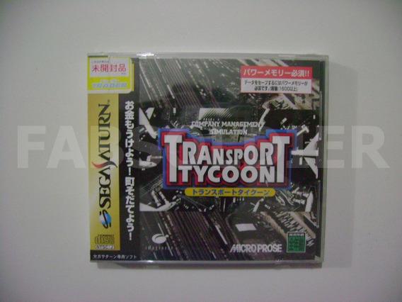 Transport Tycoon Original Japonês Novo Lacrado!