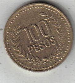 Colombia Moneda De 100 Pesos Año 1994 !!!!!!!!