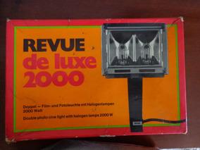 Lampada Halogenea 2000w Iluminador Antigo Revue Set Filme