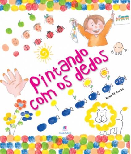 5 Unidades - Livro Apoio Didatico - Pintando Com Os Dedos
