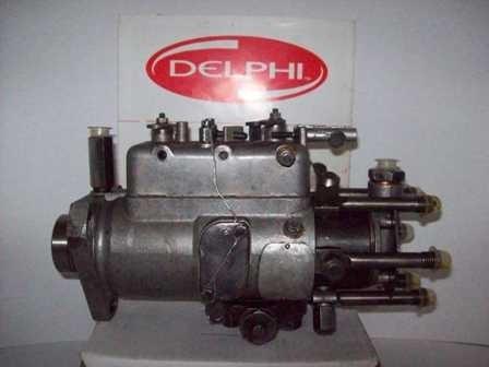 Bomba Injetora D12000, Motor Perkins 6354 Cav