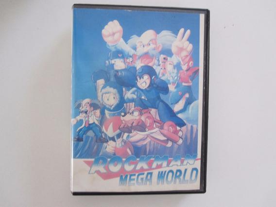 Rockman Mega World Jogo Paralelo Para Mega Drive