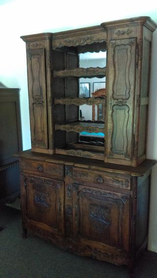 Mueble Trinchador Antiguo Francés