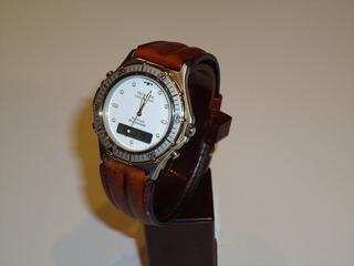Reloj Technos Caja De Acero Doble Uso Horario Crono Nuevo