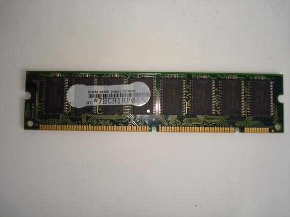 Memoria Dimm 32 Mb Sdram 4x64 Lote De 7 Memorias
