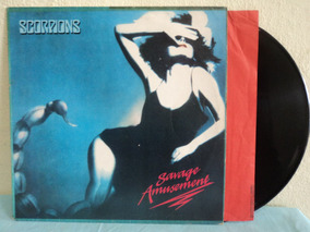 Lp-vinil:scorpions:savage Amusement+encarte:rock,hard,heavy