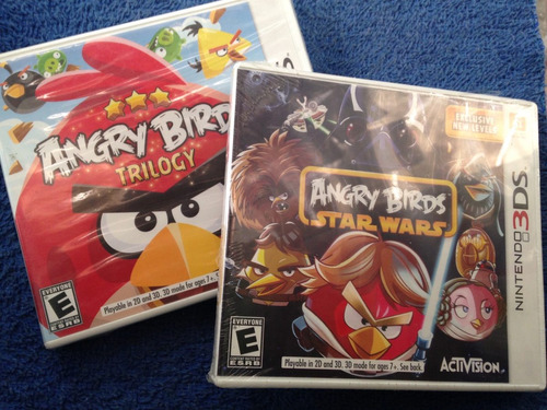 Juegos Nintendo 3ds Angry Birds Mario Batman