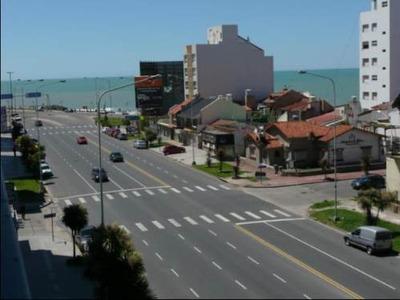 Mar Del Plata 1 Amb.div.al Frente Vta Al Mar La Perlacochera