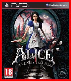 Alice Madnes Returns + Dlcs Ps3 Psn Digital