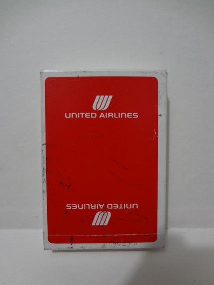Baralho Coleção United Airlines - Aviões - Playing Cards