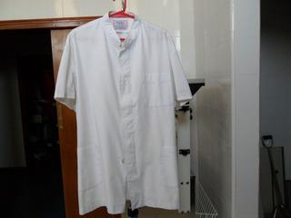 Clinicas,etc:chaquetilla Medica Talle 5 ,blanca, Tela Arciel