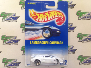 Lamborghini Countach 1989 Hot Wheels Antigo