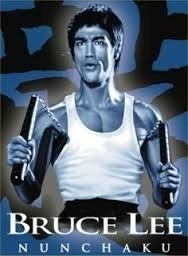 Nunchaku Armas De Bruce Lee 2 Em 1 Inoxidável Frete Gratís