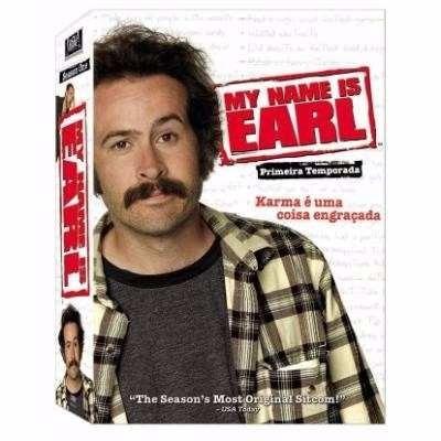 Dvd My Name Is Earl 1ª Temporada 4 Discos