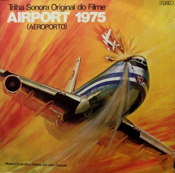 Lp Trilha Sonora Do Filme Aeroporto 1975/raro Otimo Estado