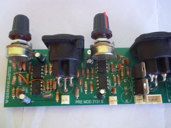 Pre Amplificador De Audio Stereo Para Amplificadores