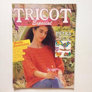 Revista Tricot Especial Extra Moda Feminina Vestido Bb845