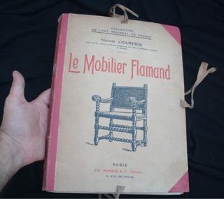 Libro Antiguo Flamenco Historia Mueble Arquitectura