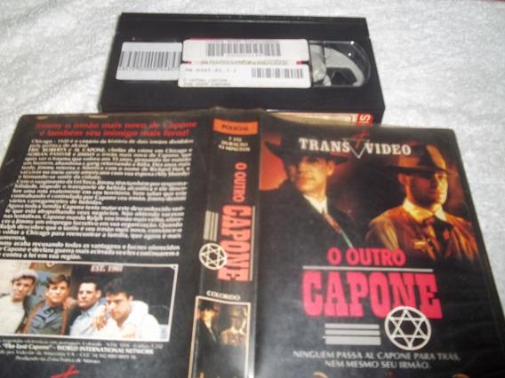 Fita Filme Vhs Legendado O Outro Capone Eric Roberts