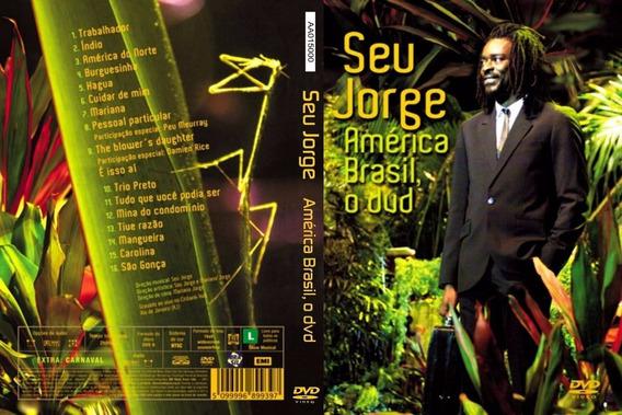 Jorge Seu - America Brasil - Ao Vivo Dvd - U