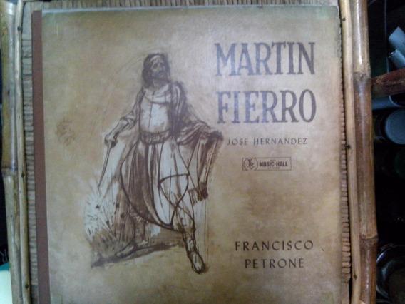 Vinilo Martin Fierro.