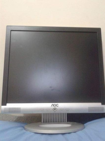 Tela De Computador Aoc De 17 Polegadas