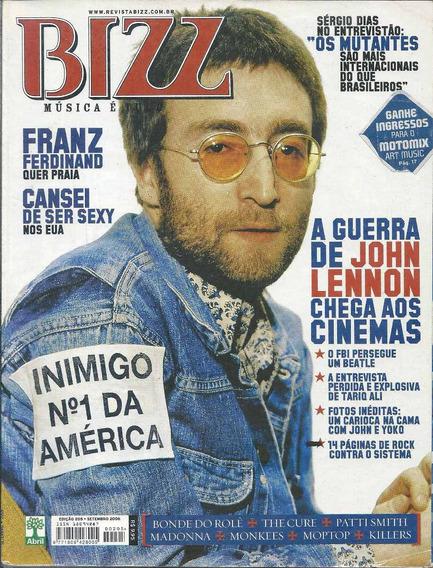 Revista Bizz 205-john Lennon,(the Beatles),rita Lee