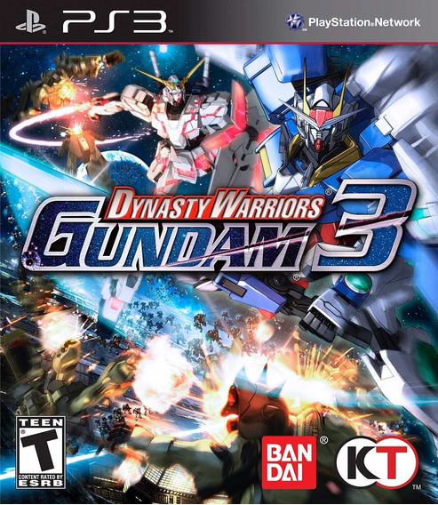 Jogo Raro Lacrado Dynasty Warriors Gundam Playstation Ps3